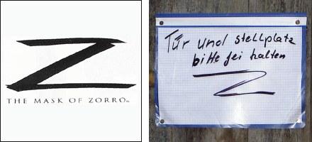 Zorro gestern und heute.
